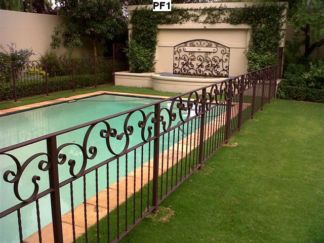 Pool fencing classic metals for Swimming pool fencing regulations sa
