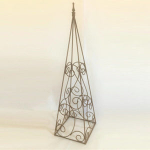 WROUGHT IRON PLANT SUPPORTS