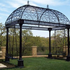 gazebo wrought iron